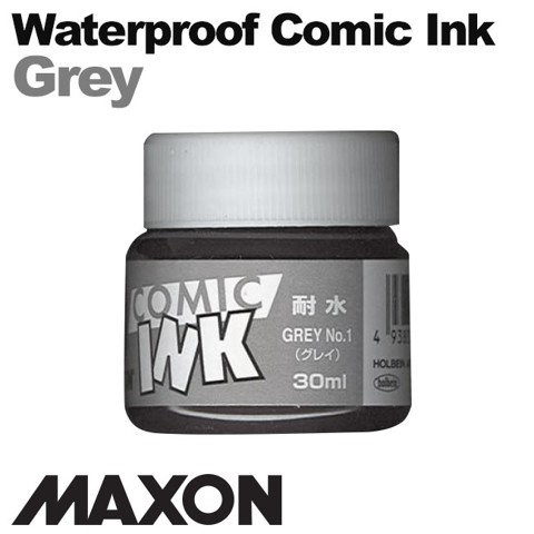 Mực vẽ comic Maxon, waterproof Gray