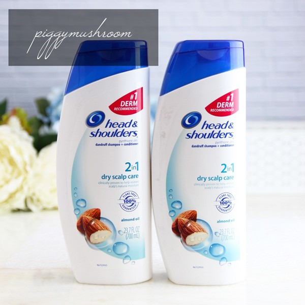Dầu Gội Head&shouder Dry Scalp Care Almond Oil Dandruff Shampoo 700ml