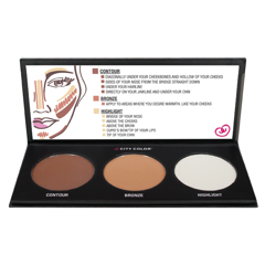 City Color Contour Effects Palette