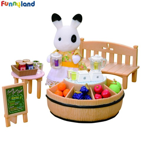 Sylvanian Families - Juice Bar & Figure