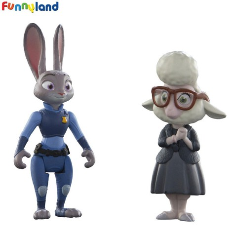Tomy Disney Zootopia Judy & Bellwether