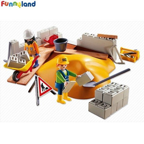 Playmobil 4138 Construction Compact Set