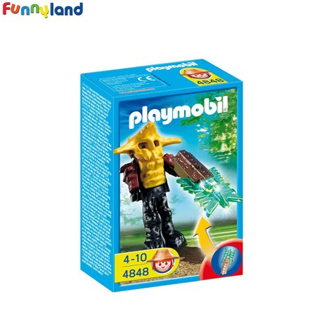 Playmobil 4848 Templeguard With Green Light Weapon