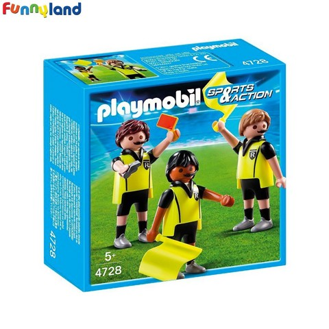 Playmobil 4728 Referees Figure Set Toy