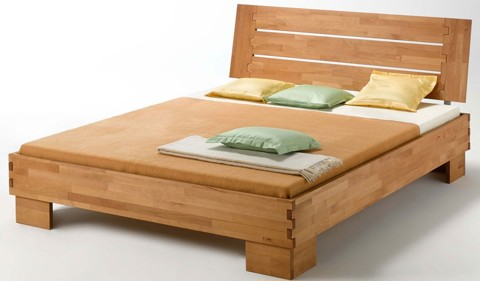 Wooden Bed 022