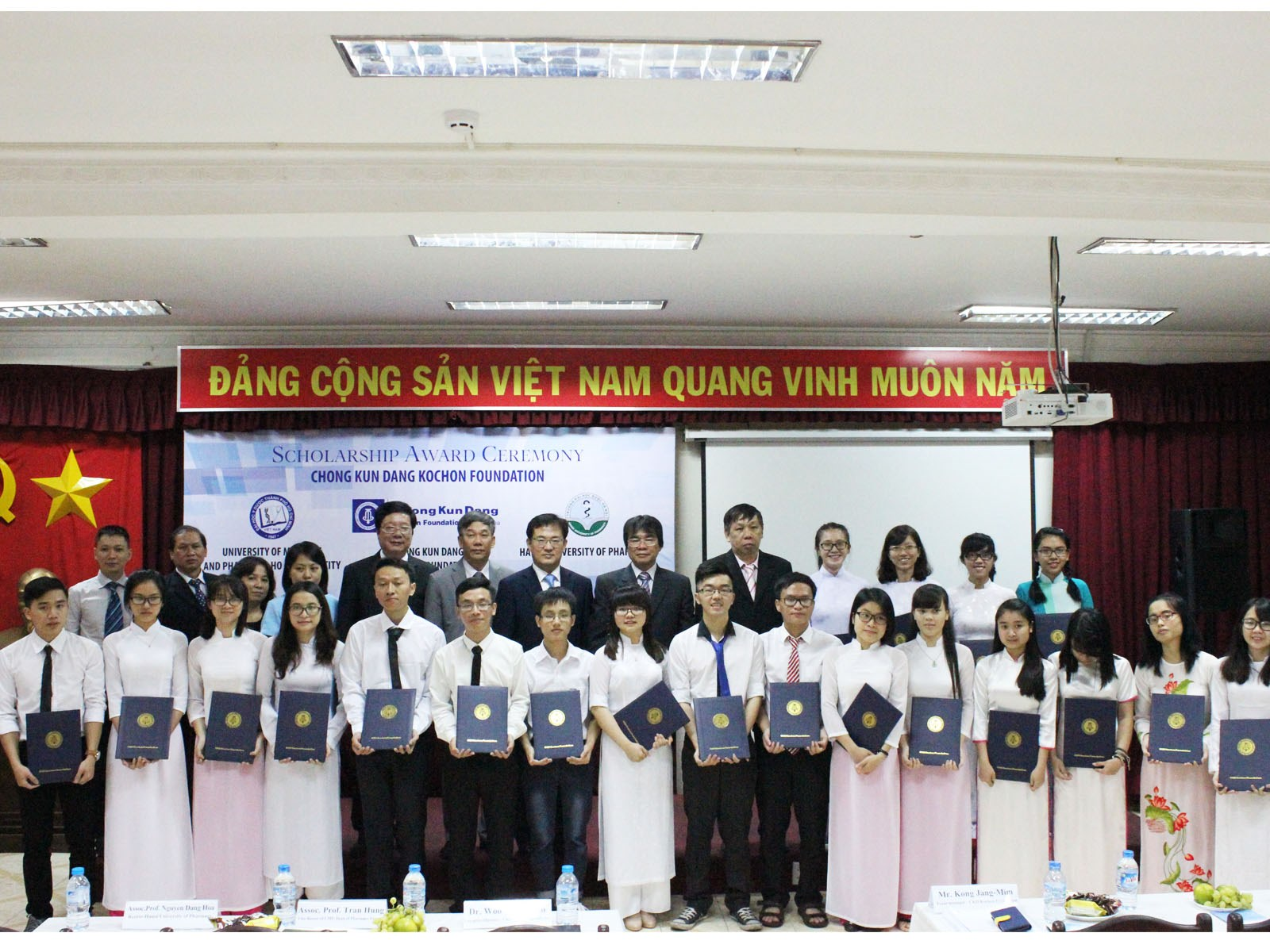 """The Korean Pharmaceutical Company """"Chong Kun Dang"""" takes the lead in fostering global human resources"""