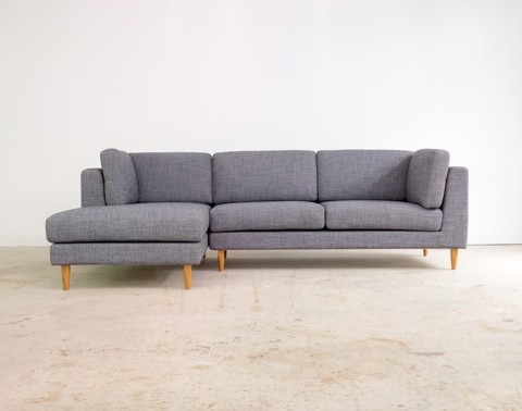 2 Piece Sectional Sofa - Chaise Left