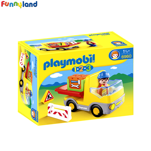 Playmobil 6960 Construction Truck