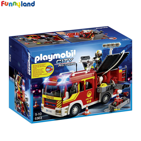 Playmobil 5363 Fire Engine with Lights and Sound