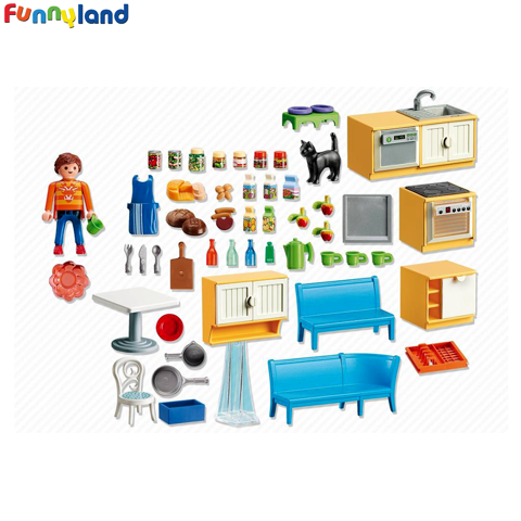 Playmobil 5336 Kitchenette with lounge