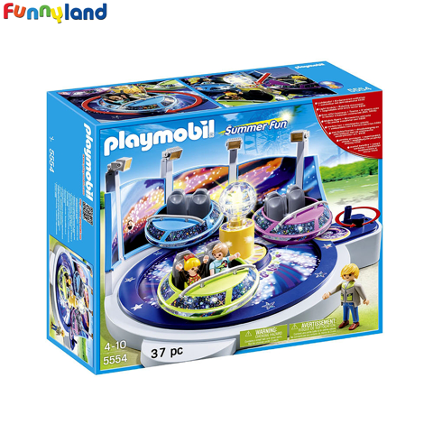 Playmobil 5554 Spinning Spaceship Ride with Lights