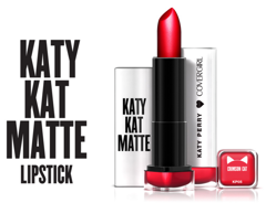 SON MÀU COVERGIRL KATY PERRY CRIMSON CAT CHAT CRAMOISI KP05