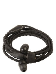 WRAPS Classic Wristband Headphones WRAPSCBLK  (S) COAL