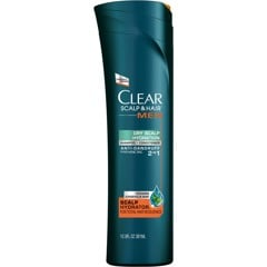 Dầu gội Clear Men Dry Scalp Hydration 2 in 1 381ml