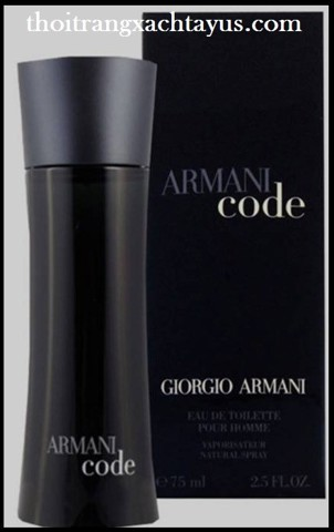 "NH 18 c - NƯỚC HOA "" GIORGIO ARMANI code  "" 75ml /made in france"