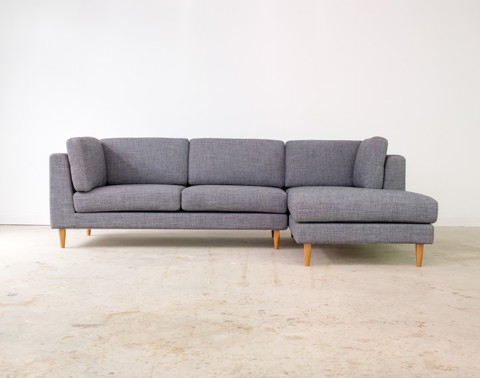 2 Piece Sectional Sofa - Chaise Right
