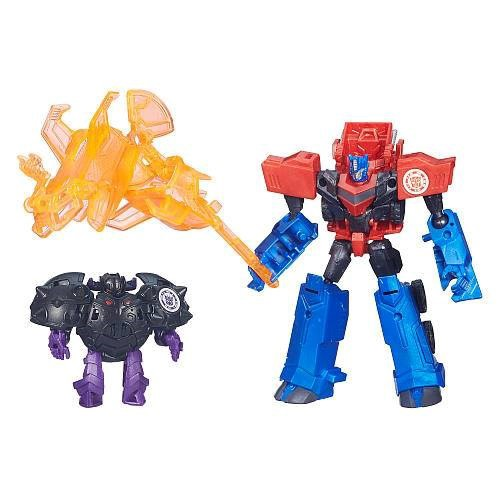 Bộ lắp ráp Transformers Optimus Prime vs Bludgeon - KN 4204