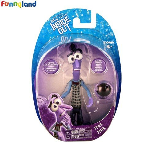 Tomy Disney Inside Out Action Figure FEAR with Memory Sphere