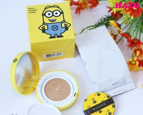 Phấn nước Missha Minions Magic Cushion Cover SPF50+ PA+++ TR085