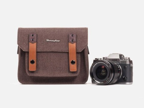 Herringbone Papas Pocket V3.0 Mini Brown