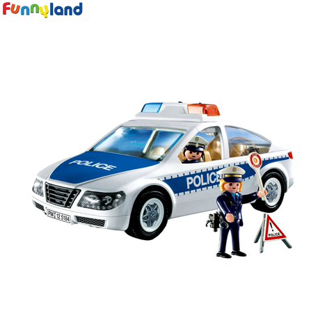 Playmobil 5184 Police Car with Flashing Light (int)
