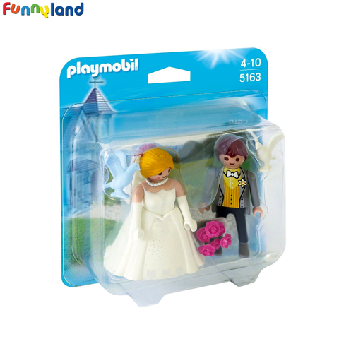 Playmobil 5163 Bridal Couple Duo Pack