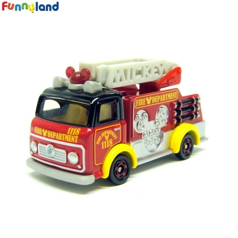 Tomica Disney Cars DM-17 Fire Truck Mickey Mouse