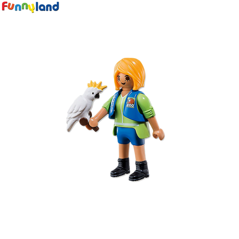 Playmobil 6830 Animal Trainer with Cockatoo