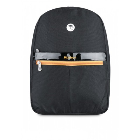 Balo Mikkor Editor Backpack Đen