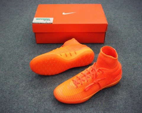 NIKE MERCURIAL X PROXIMO II IC - TOTAL ORANGE/BRIGHT CITRUS/HYPER CRIMSON