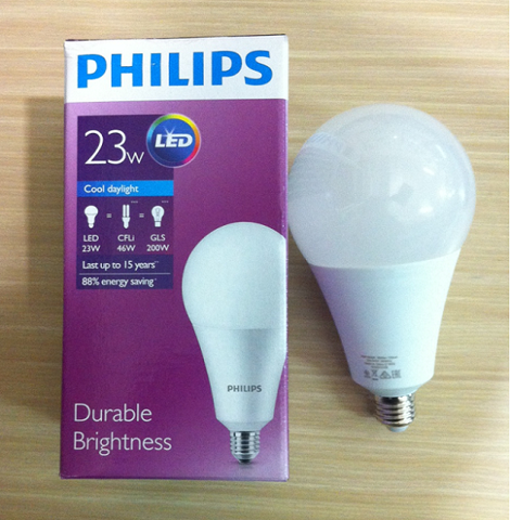 Bóng Led bulb 23W Philips