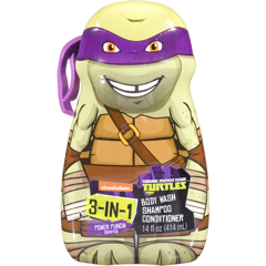 SỮA TẮM NICKELODEON TEENAGE MUTANT NINJA TURTLES POWER PUNCH SCENTED 414ML