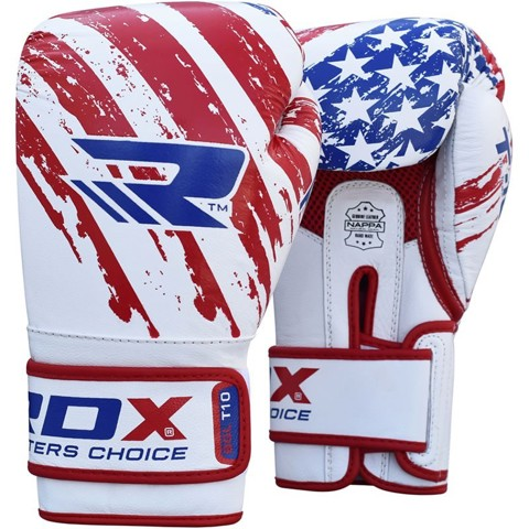 GĂNG TAY RDX USA FLAG TRAINING BOXING GLOVES
