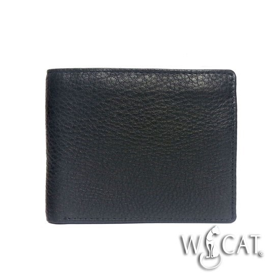 30382015 COW LEATHER M SIZE Wallet with ZIP POCKET