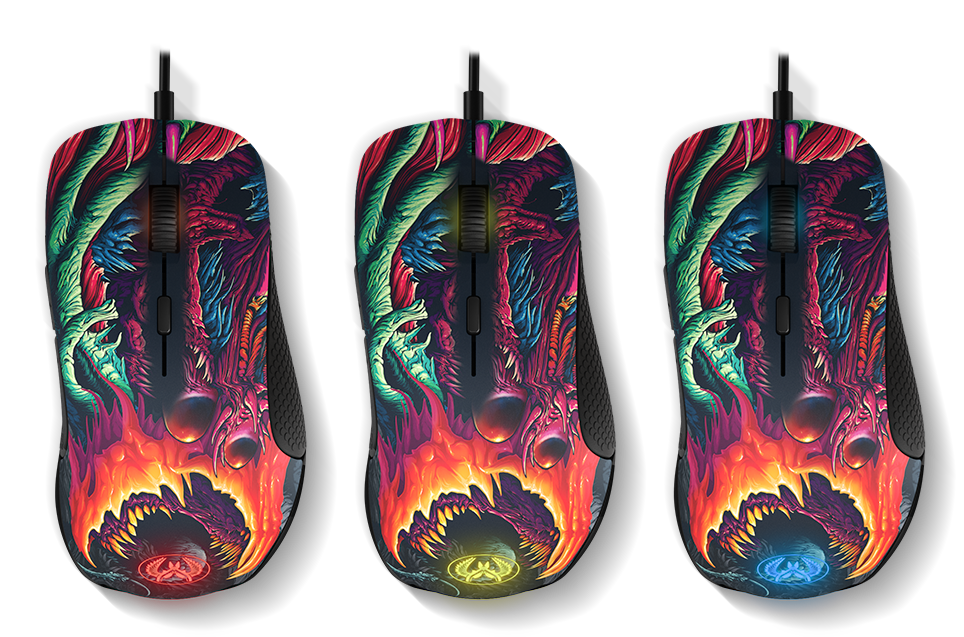 Steelseries Rival 300 CS:GO HyperBeast Special Edition