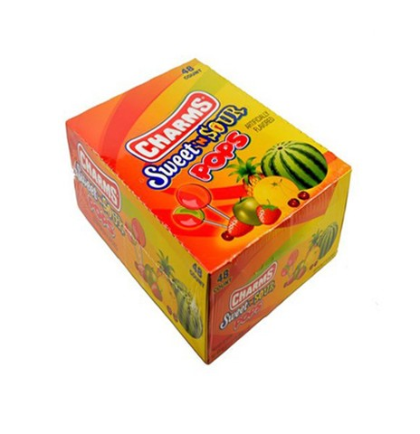 Kẹo Mút Charms Sweet/Sour Pop