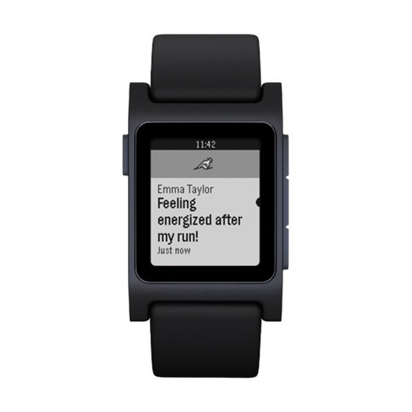 Đồng hồ Pebble 2 HR Smartwatch (Black)