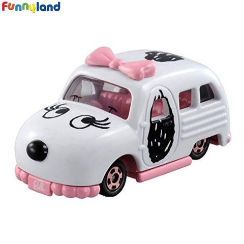 Tomica Dream Cars Snoopy Sister Belle