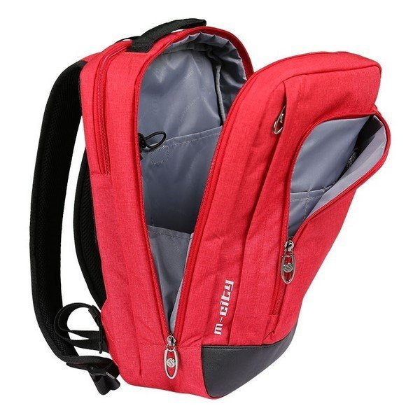 Balo laptop Simplecarry M-city (Red)