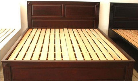 Wooden Bed 015
