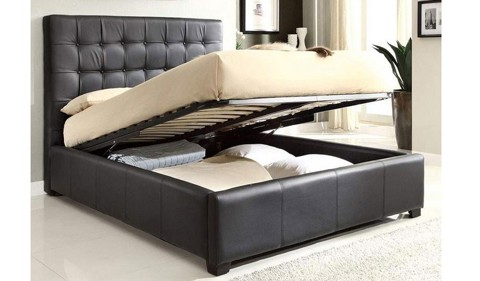 Leather Bed 002