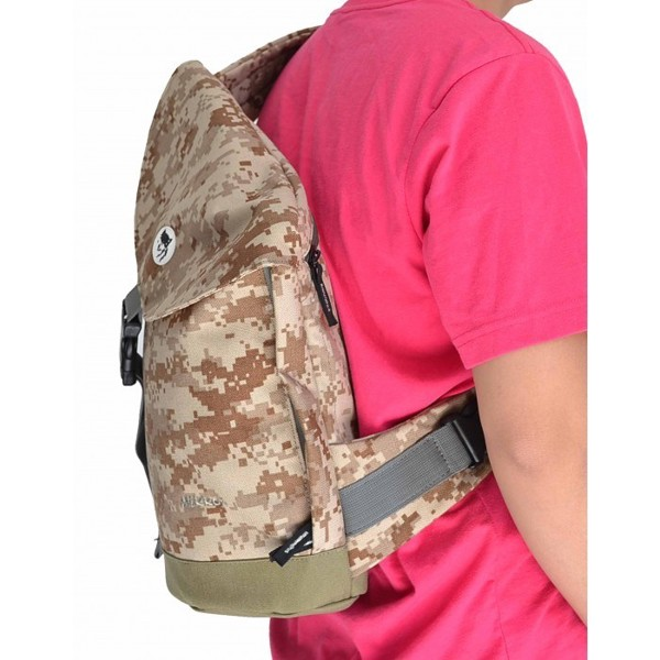 Sling Laptop Backpack Camo
