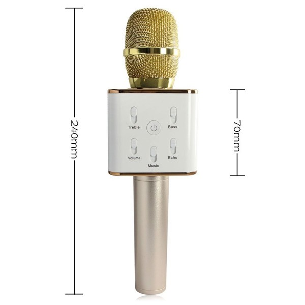 Mic hát Karaoke Loa Bluetooth Q7 3 in 1