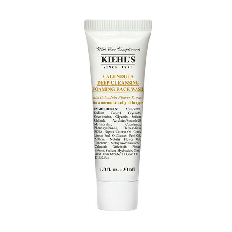 Sữa rửa mặt Kiehl's Calendula Deep Cleansing Foaming Face Wash 30ml