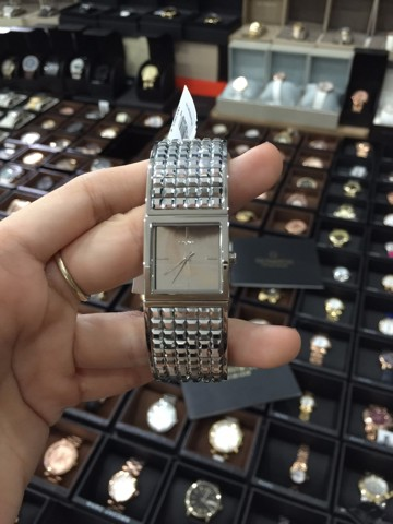 DKNY Donna Karen New York Watch Bryant Park Silver