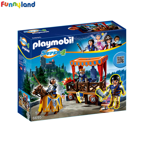 Playmobil 6695 Royal Tribune with Alex