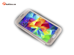 Bao da Full-view Samsung S5 - Baseus (gold)