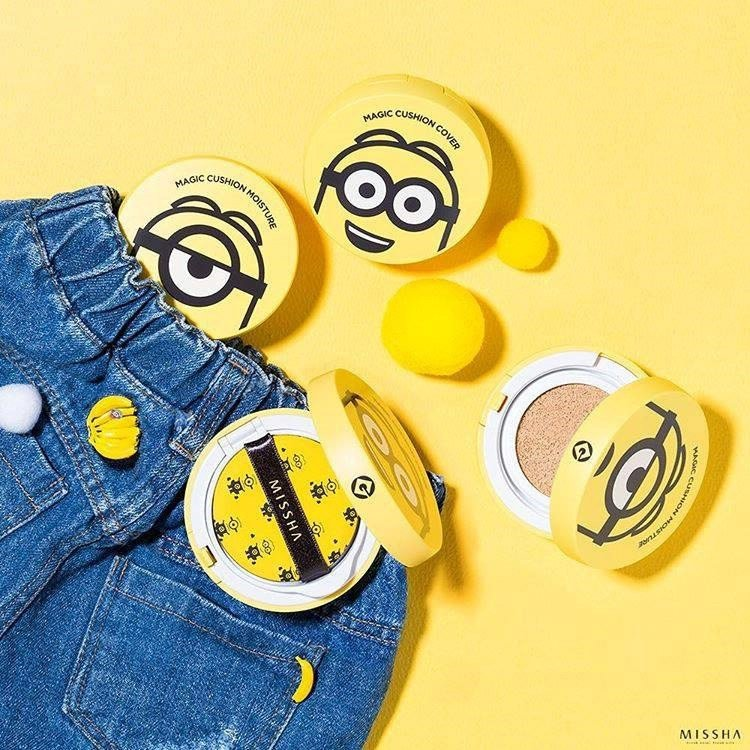 PHẤN NƯỚC MINION MISSHA Magic Cushion Cover SPF50+ PA+++
