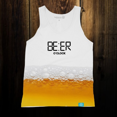 Beer O'Clock Fun -Tank Top
