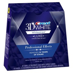 Crest Luxe Professional Effects 40 Strips